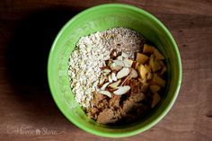 Homemade Oatmeal ingredients in bowl from Your Own Home Store