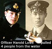 Officer Harold Lowe lifeboat 14 rescued 4 survivors