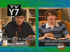Drake and Josh miss this show haha Drake And Josh Quotes, Drake Und Josh, Old Tv Shows, Best Tv Shows, Movie Quotes, Funny Quotes, Funny Gifs, Funny Google Searches, Zack E Cody