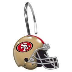 Northwest San Francisco 49ers Shower Curtain Rings