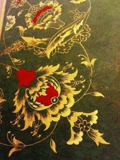 Tezhip: Emine Geçtan & Zeynep Karakuş detay Gouache, Jacobean Embroidery, Persian Motifs, Islamic Patterns, Turkish Art, Mandala, Islamic Art Calligraphy, Beautiful Paintings, Painting & Drawing