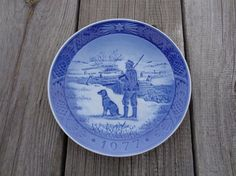 Scandinavian Vintage Decorative Plate Immervad by OLaLaVintage