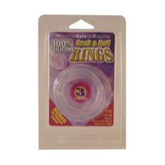 Silicone SafeSolutions 199900002 Cock & Ball Rings als 3er Set