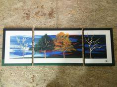 Original Painting Modern Abstract Canvas Wall Art Decor Artist JL #Abstract #Tree #Landscape #5Seasons #Modern #Canvas #Multi #Painting #Original #Art #Colorful #Ebay #JeremyLettington #ArtistLettington Copyright, Please do not copy.