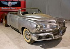 This one seems less of a fixer upper. Tucker automobile | The Mysterious Tucker convertible - Old Cars Weekly