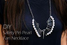 DIY Imperdible collar, imperdible bricolaje