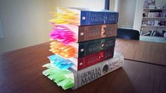 Every Death In Game of Thrones Marked With Post-Its