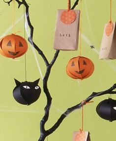 cool Halloween decorations for the children's party