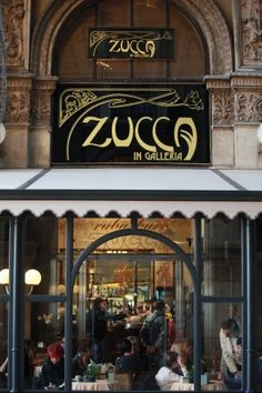 My favourite cafe in the city! Old and so beautiful!!! Zucca, Galleria Vittorio Emanuele, Milan