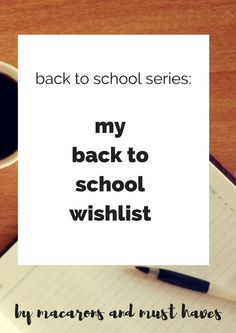 hey all! welcome back to my back to school series! comec check out my post about my wishlist for the stuff that i still want before school.