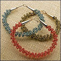 bead daili, seed bead patterns, beaded bracelets, crystal bracelet, bead projects, seed beads, beadweav idea, kumihimo braid, beading projects