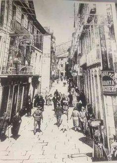 Preguntoiro. Fotos antiguas de Santiago de Compostela.