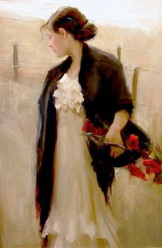 mysilentartworld:  In The Open Air by Johanna Harmon