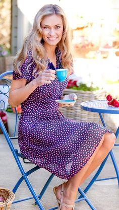 THAT BIRD LABEL - Finch Cap Sleeve Dress   #thatbirdlabel #tuttifruitti #spring #raspberry #dress #