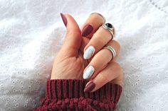 marmurkowe paznokcie hybrydowe zdobienie marble nails. Matowe paznokcie.