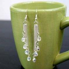 Make these simple earrings to dress up any outfit! @Jessa Green