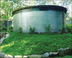 Build An UltraModern Rainwater Harvesting System | 12 Rainwater Collection Tips | Simple and Easy DIY Ideas Every Preppers Should Know | Survival Life : http://survivallife.com/rainwater-collection-tips/