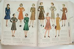 McCall catalogue, May 1939 featuring McCall