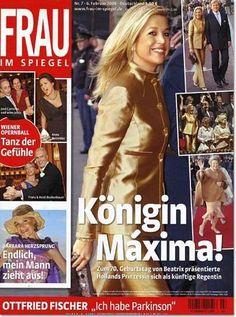 Crown Princess Maxima of Holland.