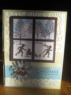 Christmas Evening by stampingmomtotwins - Cards and Paper Crafts at Splitcoaststampers