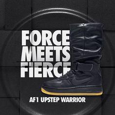 a4c11dda2c Air Force 1 Upstep Warrior bekämpar alla sorters väder med stil. Finns på  footish.