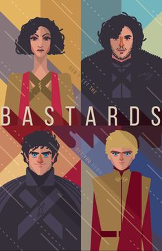 Game of Thrones poster on Behance
