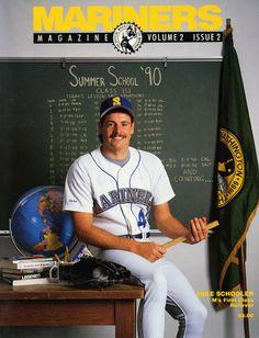 Mike Schooler, #Mariners Magazine (1990)