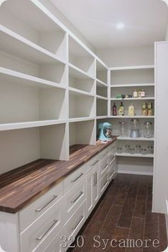 long pantry #kitchenpatrydecoration #kitchendesign