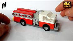 How to Build the American Fire Truck (MOC - 4K)