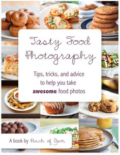 NEW Food Photography eBook
