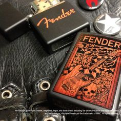 Partnering with Fender Guitar gave us the squealies!   #Zippo #lighter #Zippolighters #music #Fender #Guitar #birthday #america #usa