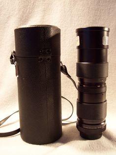 Vivitar Camera Zoom Lens 85 205mm f3.8 for Minolta with Case #Vivitar