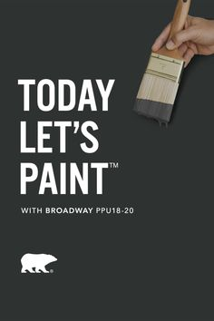 A deep gray that's ready to take center stage. See what your comfort zone is capable of with Broadway PPU18-20. Click below to explore. #BEHRTrends2021