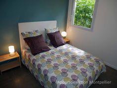 La chambre de l'appartement Jardin Aiguelongue à Montpellier