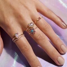 Round Diamond Ring, Diamond Bands, Round Diamonds, Conflict Free Diamonds, Pink Tourmaline, Gemstone Colors, Jewelry Branding, Natural Gemstones, Wedding Bands