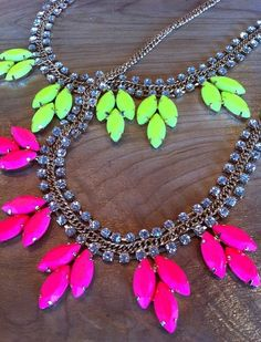Necklace Pink/Yellow