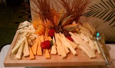 #cheese tray from Crowne Plaza