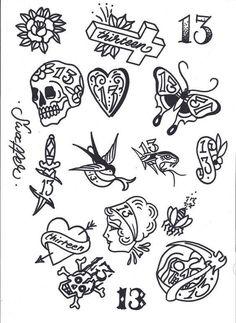 Tattoo Flash Art Tattoo friday the tattoos