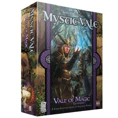 "Expansion to Mystic Vale coming in October 🎲 Mystic Vale already made waves with it's new card crafting mechanic, and along with solid gameplay has made itself fairly popular.  So naturally AEG will be expanding the game because ""deck"" building games like this live and die in the long run based on expansions.  Mystic Vale: Vale of Magic will expand the game with 58 new advancement cards and 18 new vale cards, all of which sport the newest magic type, arcane magic.  Not much more has..."