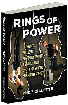 Rings of Power Book cover designed for Dragon Door Publications by author Mike Gillette