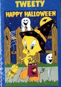 Tweety Bird Halloween | Halloween Tweety Flag 28x40 (74015)