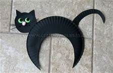 cat crafts for preschool, looks easy enough