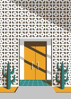 this isn't happiness™ (Mid-Century Illustrated, Jeremy Booth), Peteski