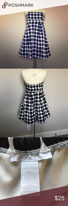 Black and white polka dot cocktail dress Cute cocktail dress, in excellent condition Charlotte Russe Dresses Mini