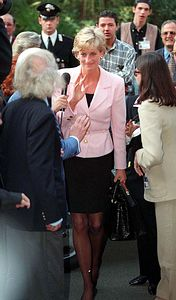 October 12 1996 Diana arrives in Rimini Italy and goes on to the Grand Hotel