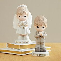 Precious Moments Communion Boy & Girl Figurine