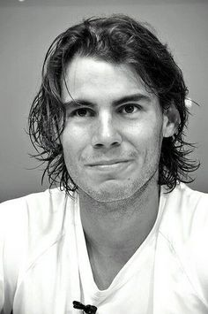 I wish to acquire Rafa Nadal's positive attitude and competitive spirit.