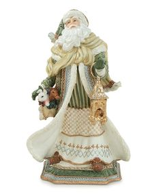 Take a look at this Gregorian Santa Claus Figurine by Fitz and Floyd on #zulily today!