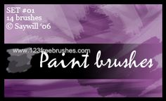 Paint Stroke - Download  Photoshop brush http://www.123freebrushes.com/paint-stroke-19/ , Published in #GrungeSplatter. More Free Grunge & Splatter Brushes, http://www.123freebrushes.com/free-brushes/grunge-splatter/ | #123freebrushes