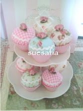 Fabric Cupcakes FOR SALE